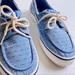 Keds Charter Boat Blue Lace Up Shoes